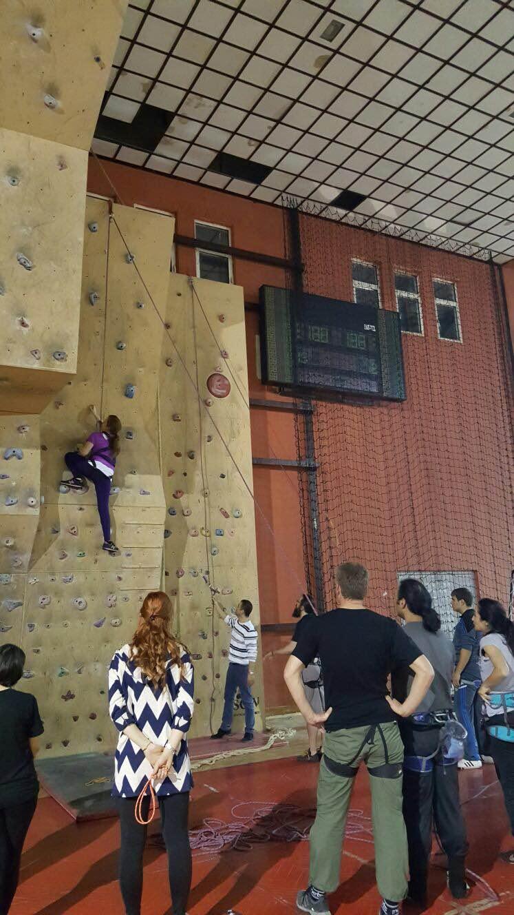Yapay Duvar Tırmanışı